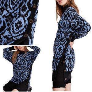 Free People Wallpaper Tunic Sweater